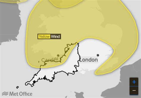 Storm Aileen headed for Bath provoking serious weather ...