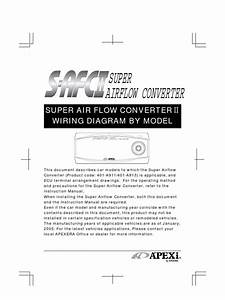 Apexi Installtion Instruction Manual  S  Super Air
