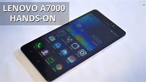 Lenovo A7000 Hands-on