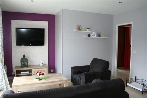 peinture chambre prune et gris peinture salon violet et gris dootdadoo com idées de