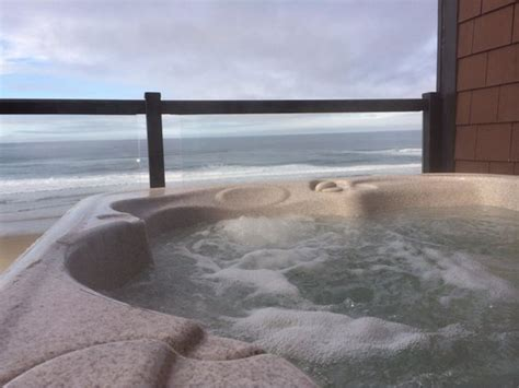 lincoln city oregon hotels with tubs in room view from our tub on sunday morning picture of