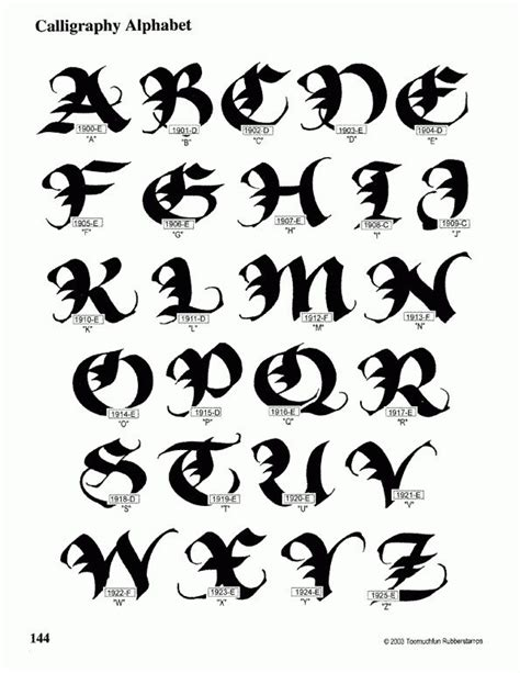 Calligraphy Alphabet  Calligraphy Alphabet Guide  Calligraphy  Pinterest Calligraphy