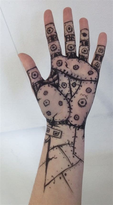 cool designs  draw   fingers google search arm