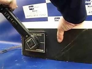 Sold Mercruiser Quicksilver Flush Mount Control Box