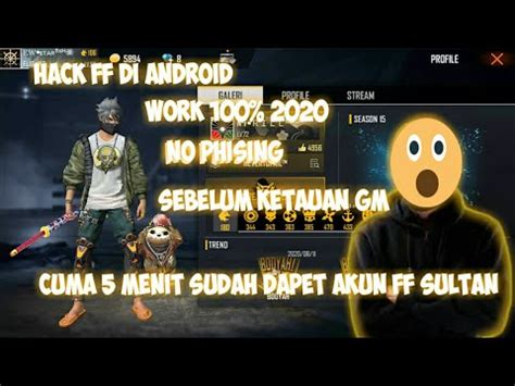 Do you start your game thinking that you're going to get the victory this time but you get sent back to the lobby as soon as you land? CARA HACK AKUN FREE FIRE DI ANDROID 2020 - YouTube