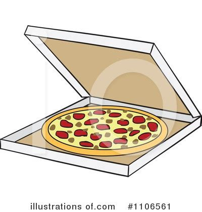 open pizza box clipart clipground