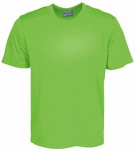 LIME GREEN Kids Sports T Shirt with number