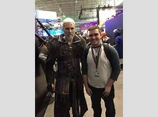 Met the most insane Geralt cosplay at PAX today gaming