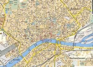 Mapa de Frankfurt Guia de Alemania