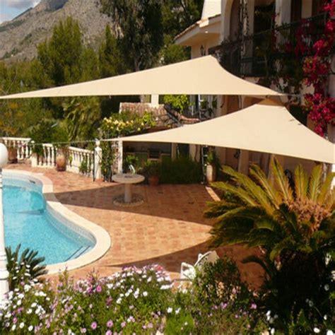 triangle shade cloth garden outdoor