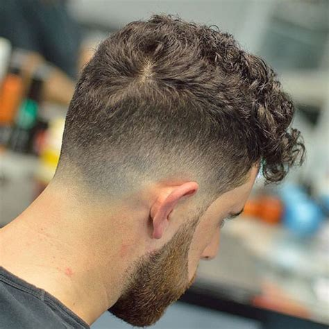 curly hair fade  guide