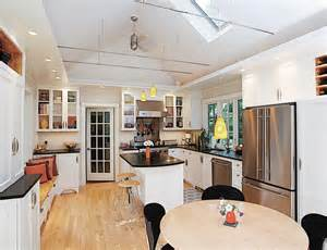 lighting for vaulted ceilings kitchen traditional with
