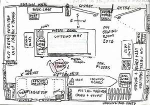 Amy U0026 39 S Etcetera  Sewing Room Diagram