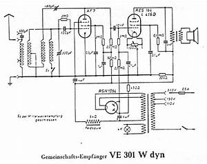 Volksempfaenger Ve 301 W Dyn Service Manual Download  Schematics  Eeprom  Repair Info For