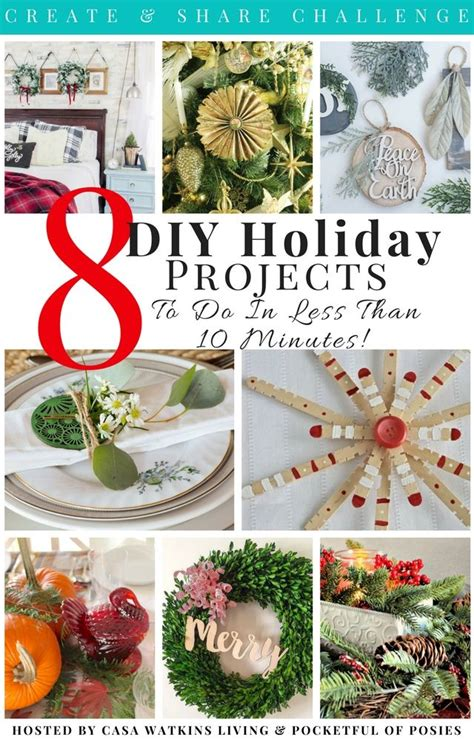 minute christmas decorating ideas  images easy