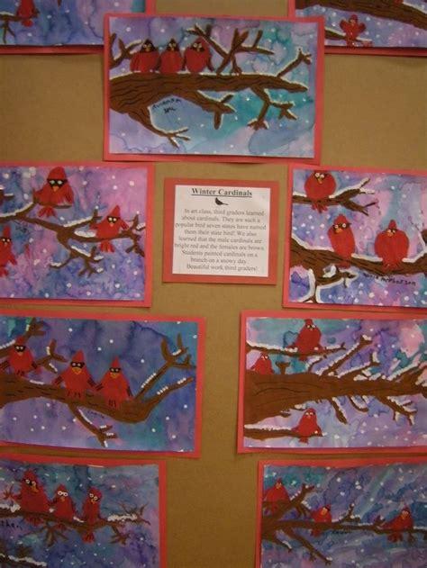 artolazzi st  grade elementary art projects winter