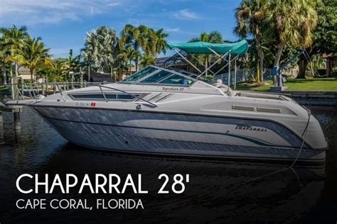 28 Foot Chaparral Boats For Sale by 1995 Chaparral 28 Power Boat For Sale In Cape Coral Fl