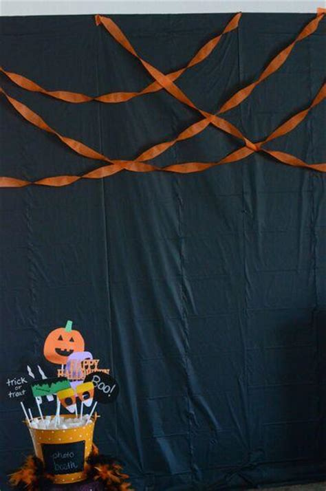 halloween photo booth backdrop ideas festival collections