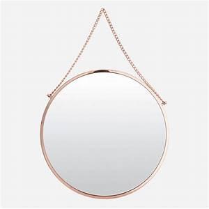Miroir Rond Cuivre : bolina miroir rond cuivre house doctor ~ Edinachiropracticcenter.com Idées de Décoration