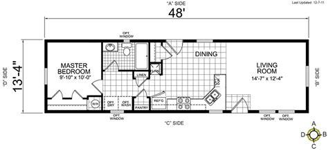 Single Wide Mobile Home Floor Plans
