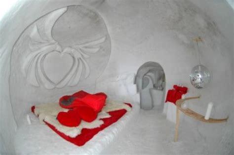 iglu hotel uebernachtung  einem romantik iglu  personen