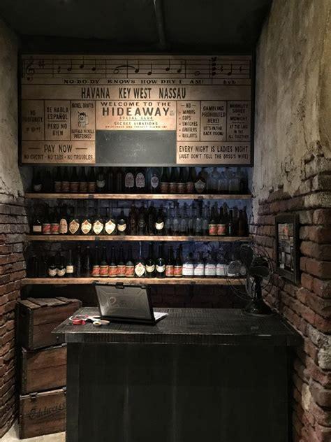 First Look Inside Enzo?s Hideaway Speakeasy Tunnel Bar in