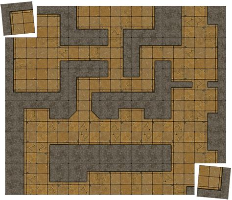 squareforge modular dungeon tiles for rpg tabletop