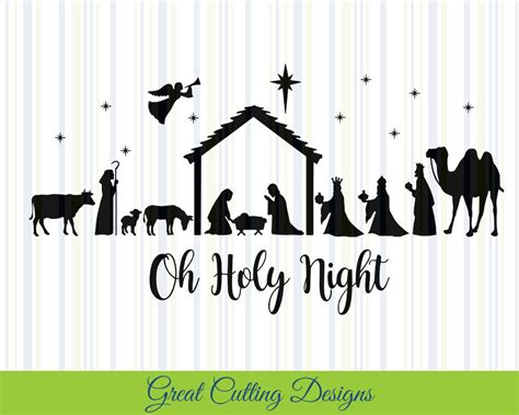 Find beautiful, timeless png and svg cut files for scrapbooking, card making, and more. Nativity SVG Cut File Christmas svg DXF cut file Cricut svg