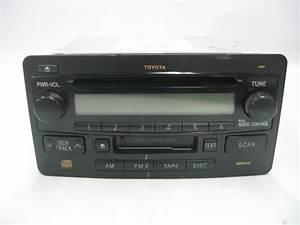 Toyota Stereo 86120