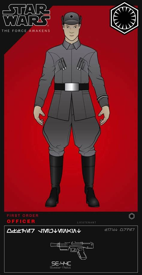 First Order Officer Lieutenant By Efrajoey1 On