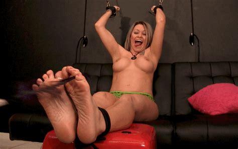 Catherine Foxx Feet Tickled