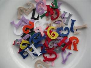 felt letters alphabet die cut set of 100 mix cut out letters With cutting felt letters