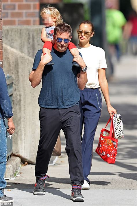 Bradley Cooper And Irina Shayk Walk Around New York