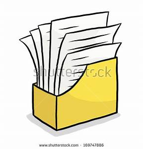 file box stock photos royalty free images vectors With documents cartoon images