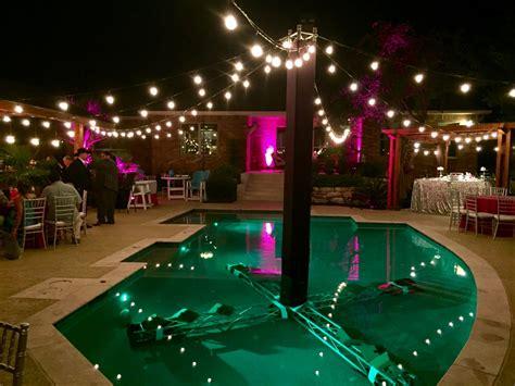 string lights pool string lighting dpc event services