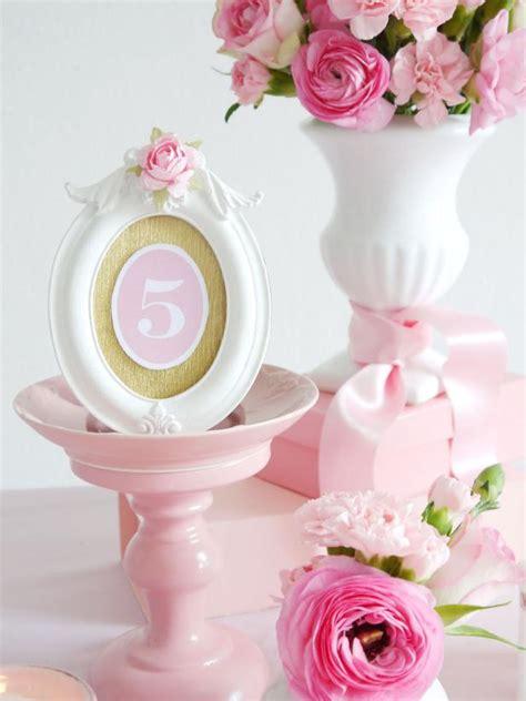 printable diy table numbers  weddings hgtv