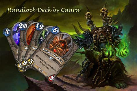 hearthstone beast deck gvg gaara s gvg handlock deck 2p hearthstone heroes