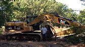 bobcat removing stumps youtube