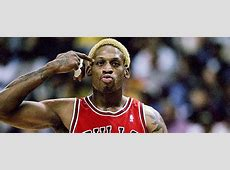 Dennis Rodman never had a conversation with Michael Jordan