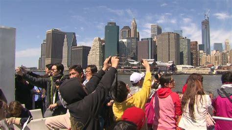 tourism  china  united states growing