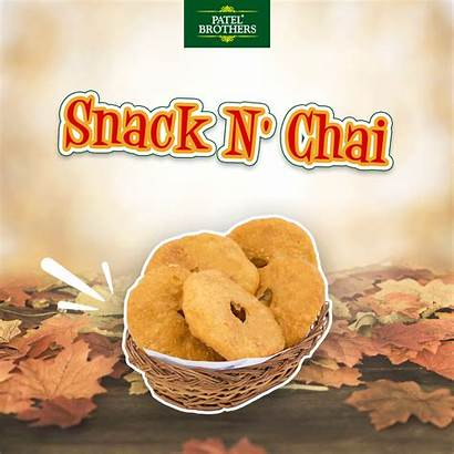 Snack Chai Autumn Rich Sweet Indian Tea