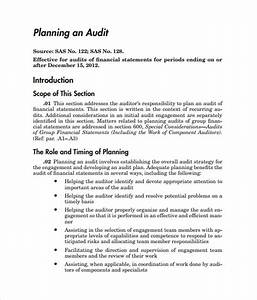 Internal audit plan template pictures to pin on pinterest for Internal audit scope template