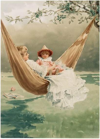 Mother Child Hammock Fairy Graphics Thegraphicsfairy Children