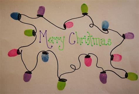 fingerprint christmas lights craft grasping for objectivity