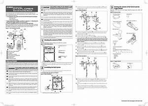 Yamaha Dtxplorer Basic Set Assembly Manual Dtxplbs En Am A0