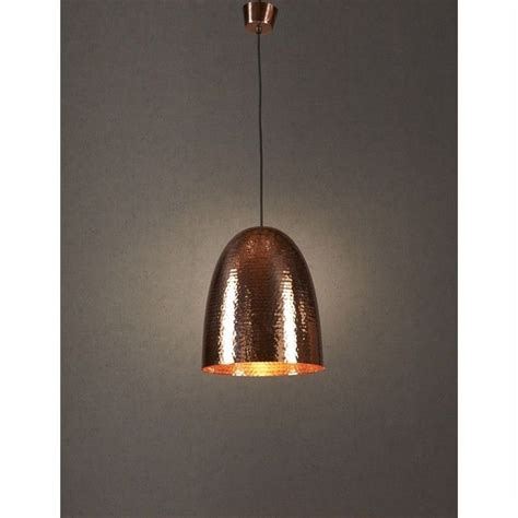 Hammered Metal Pendant Light by Dolce Hammered Metal Pendant Light Copper