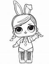 Lol Coloring Dolls Doll Colouring Surprise Printable Cartoon Drawing Colorare Grade Colorir Worksheets Desenhos Sheets Imprimir Diva Tsgos Bunny Reading sketch template