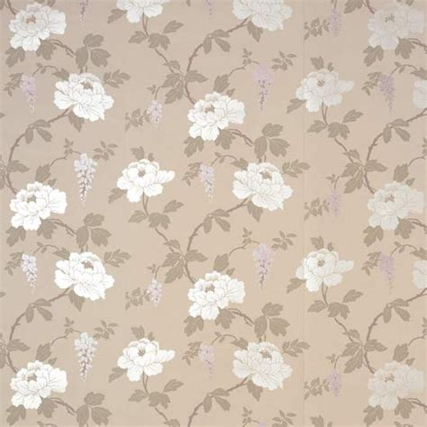 Camelia Lilac Wallpaper From Homebase Wallpaper