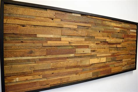 Today i'm sharing part 1 of a different kind of project for us—we're giving our friends guest bedroom a i love that our friends aren't afraid to branch out and use color. Reclaimed Barn Wood Wall Art Horizontal Slats FREE | Reclaimed wood wall art, Reclaimed barn ...