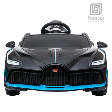 At €5m a pop, it's twice the price of a bugatti chiron, so unless the propshaft is forged in. Bugatti Divo 12V Ride On Car with Remote Control for Kids ...